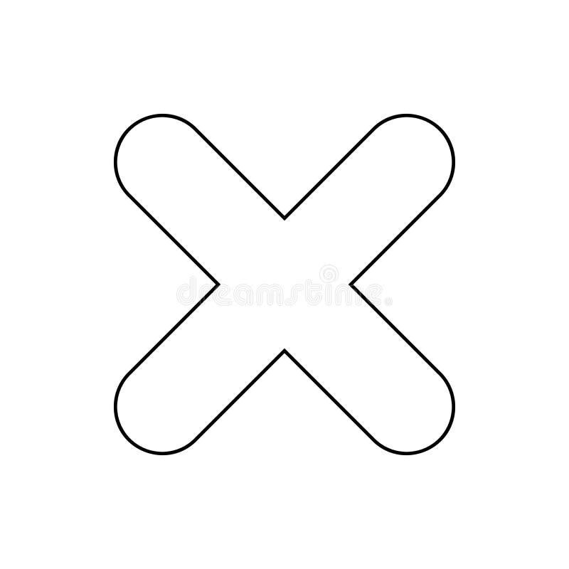 tecknet tar bort symbolen Beståndsdel av rengöringsduken för mobilt begrepp och rengöringsdukappssymbol Tunn linje symbol för web vektor illustrationer