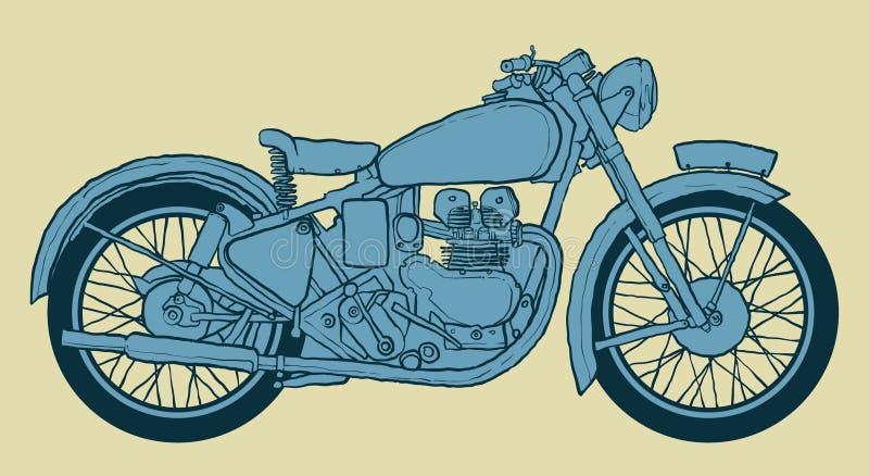 Teckning för kaféracerbilvektor vektor illustrationer