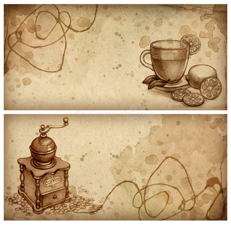 teckningsblyertspenna royaltyfri illustrationer