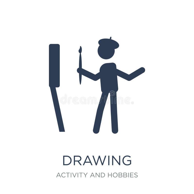 Teckningssymbol  vektor illustrationer