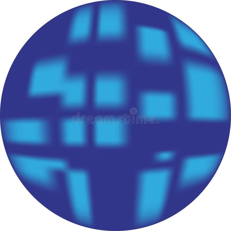Botão azul (botão da Web que olha 3d)