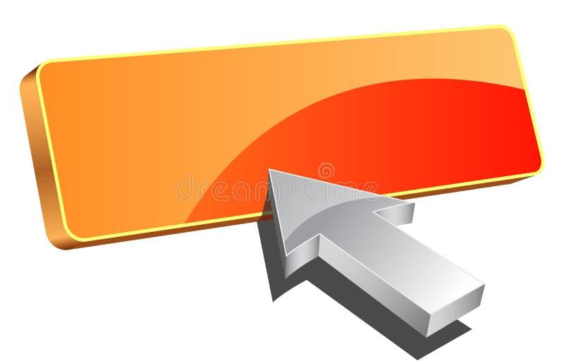 Tecla da compra ilustração stock