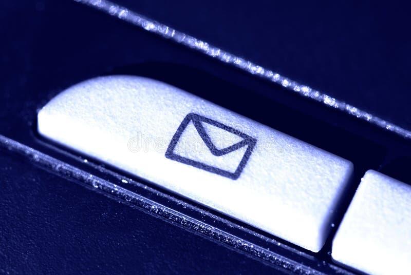 Tecla Do Email Foto de Stock