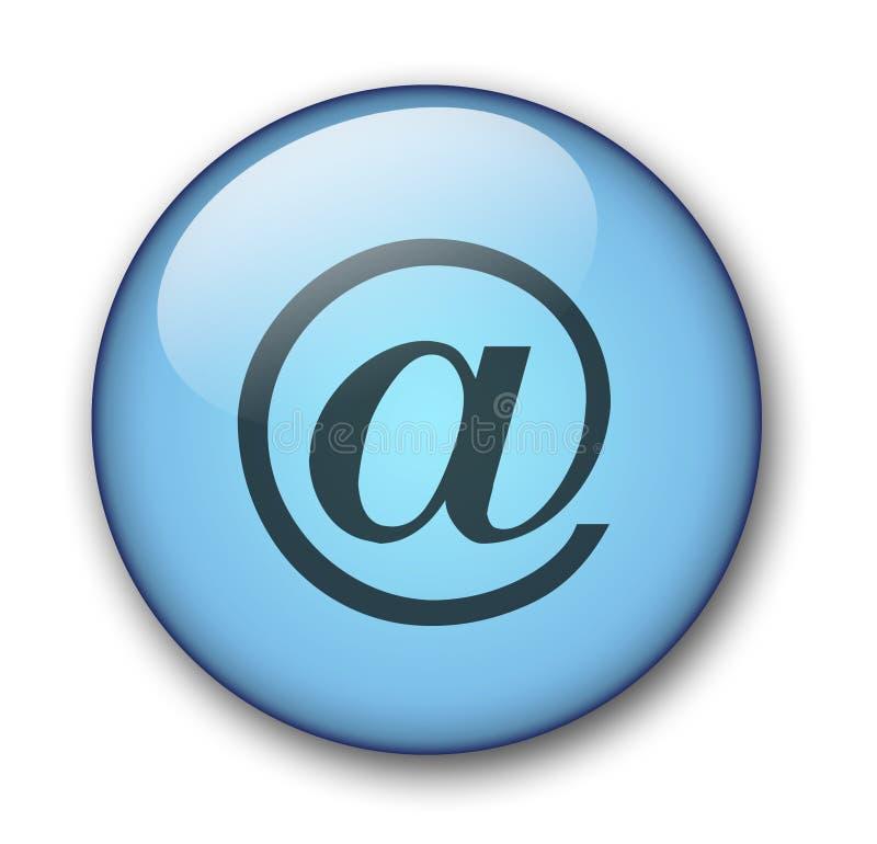 Download Tecla do Web do Aqua ilustração stock. Ilustração de azul - 58289