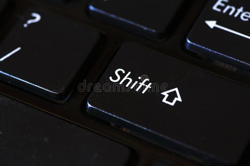 Tecla Shift imagem de stock royalty free