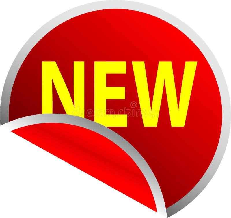 Download Tecla vermelha nova ilustração stock. Ilustração de isolado - 10058767
