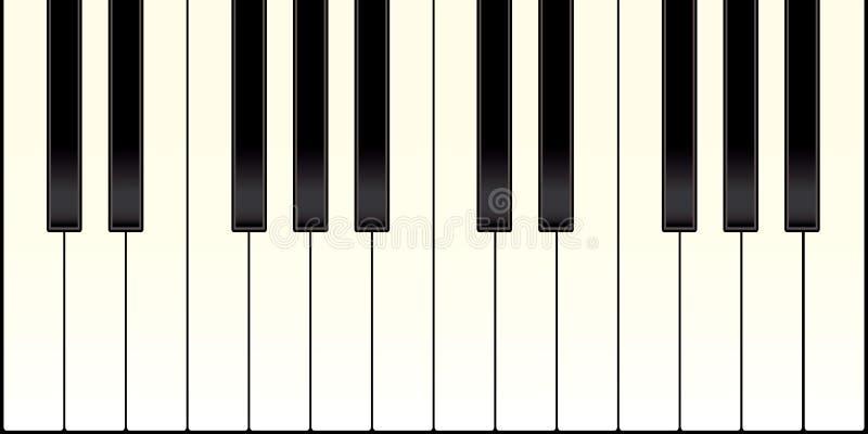 Teclado de piano libre illustration