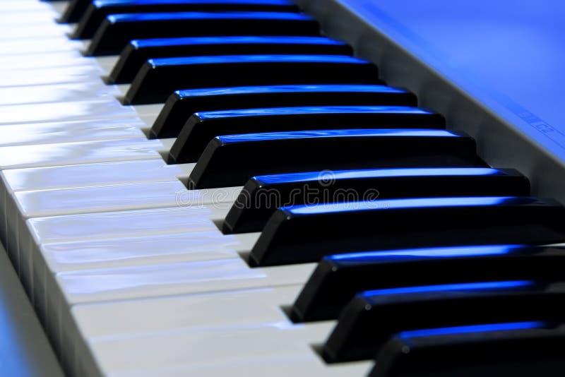Teclado de piano imagenes de archivo