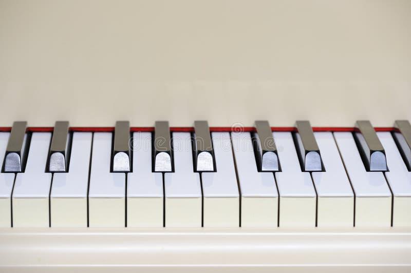 Teclado de piano magnífico foto de archivo libre de regalías