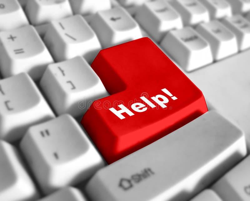 Teclado Especial - Ajuda Imagens de Stock