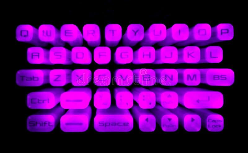 Download Teclado iluminado foto de stock. Imagem de iluminado, teclado - 526432