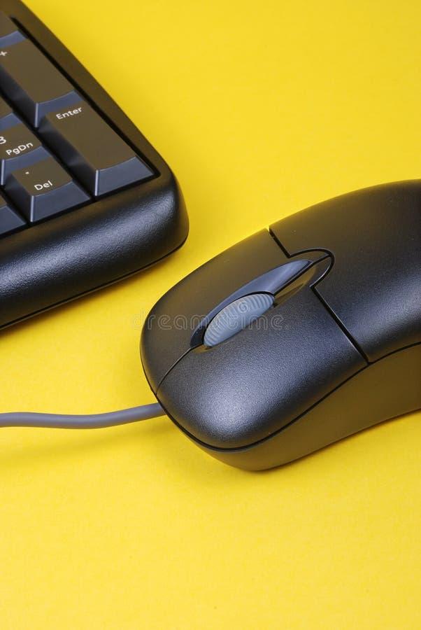 teclado y ratón fotos de archivo