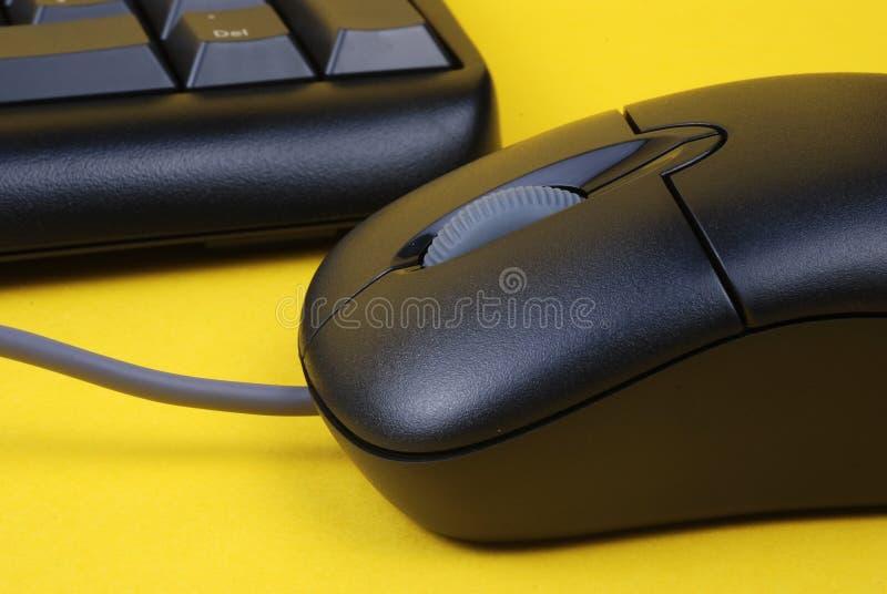Teclado y ratón foto de archivo