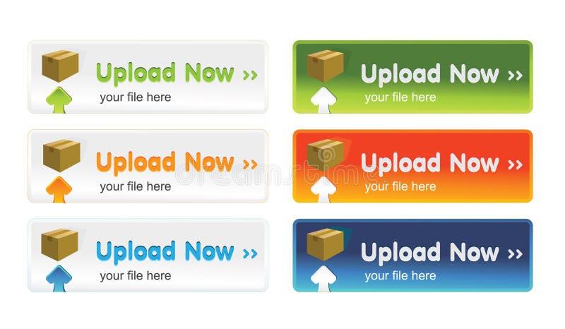 Download Teclas Da Transferência De Arquivo Pela Rede Ilustração Stock - Ilustração de download, dobrador: 12804139