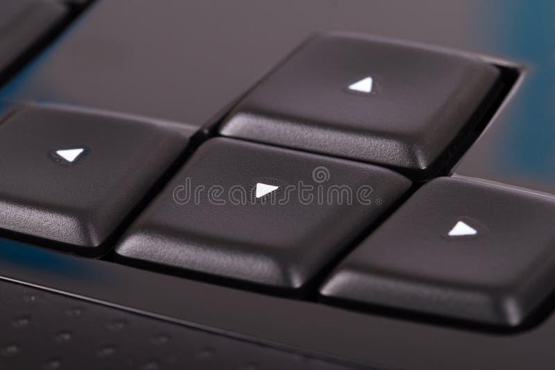 Teclas de dirección imagen de archivo