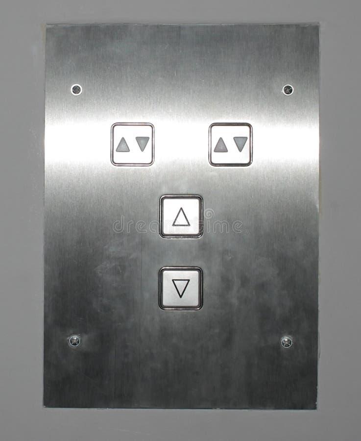 Teclas do elevador fotografia de stock royalty free