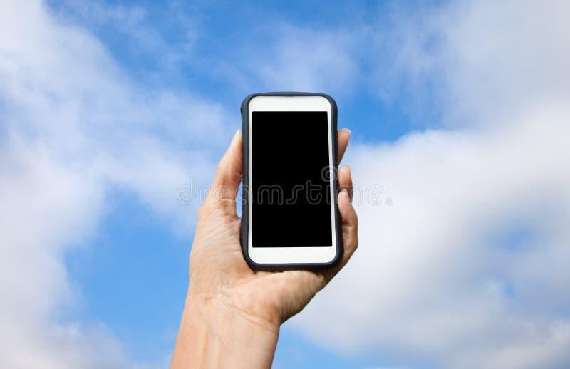 Teclas do telefone da pilha Phone foto de stock