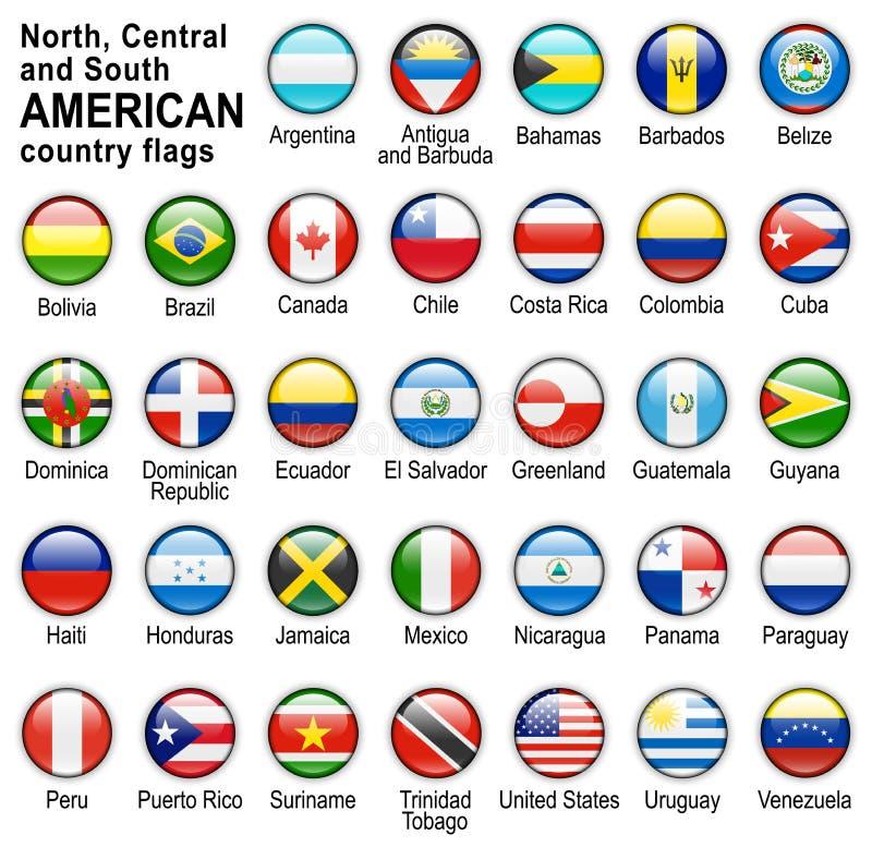 Teclas do Web da bandeira ilustração royalty free