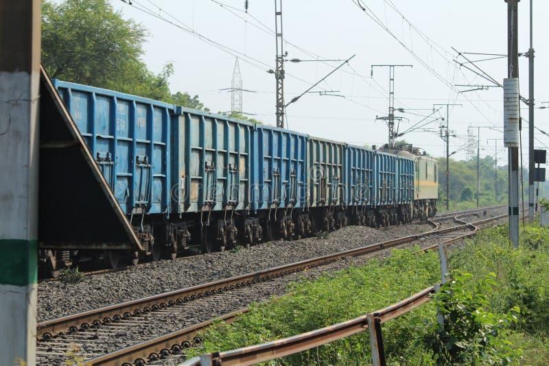 Tecleo del tren imagenes de archivo
