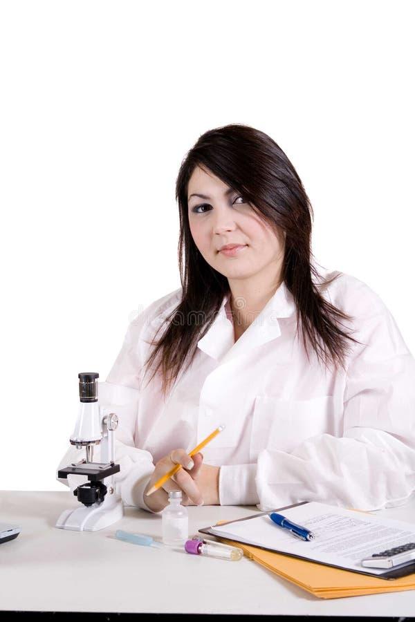 Tecnólogo médico foto de archivo libre de regalías