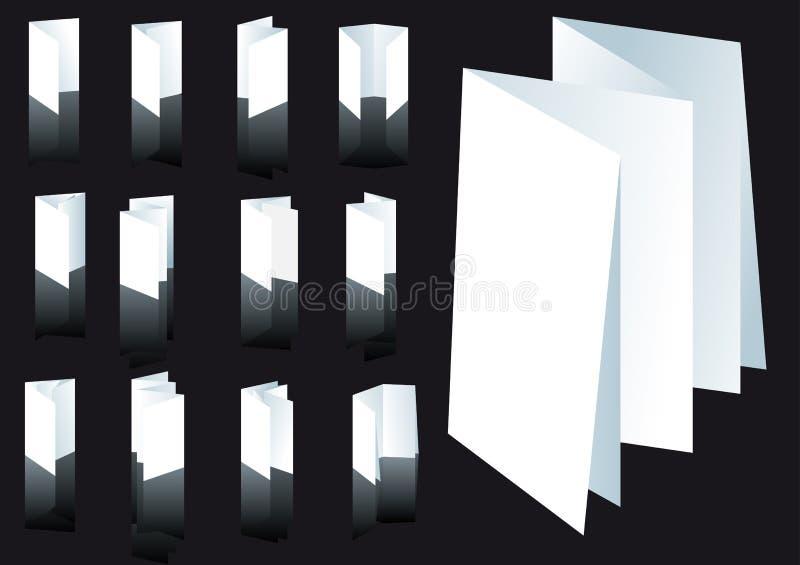 Tecniche pieganti illustrazione di stock