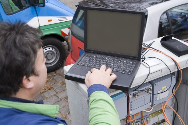 tecnico 2 fotografie stock libere da diritti