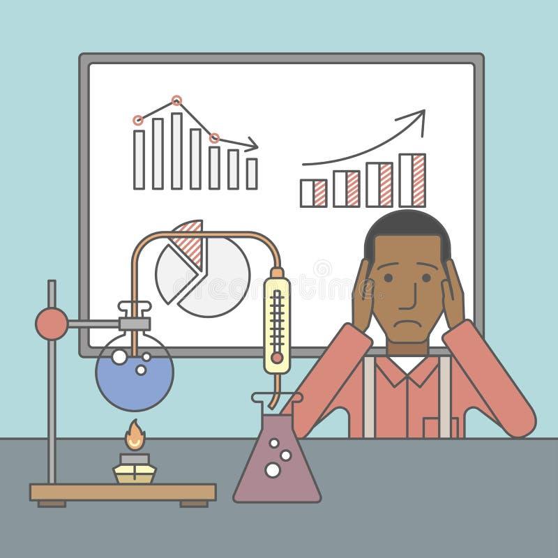 Tecnico di laboratorio royalty illustrazione gratis