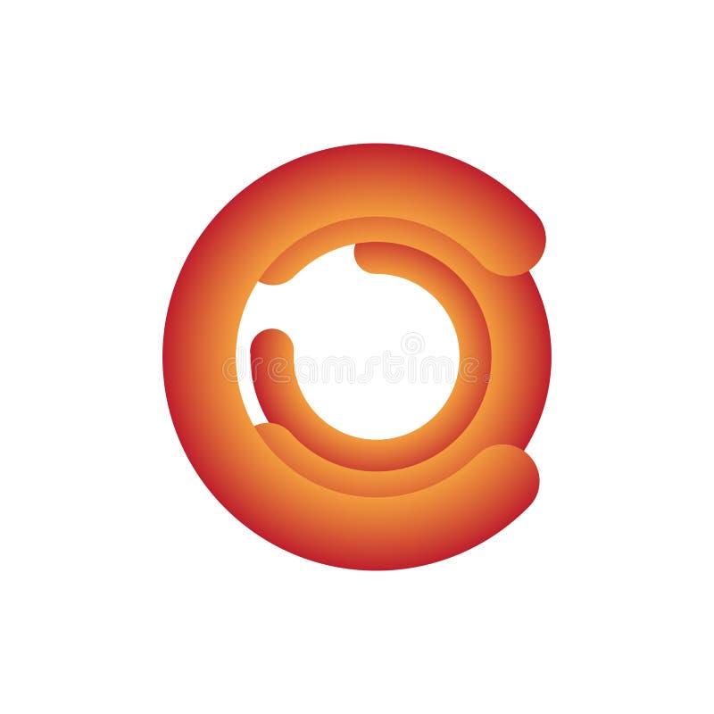 tecnología, circuito, logotipo, vector, símbolo, plantilla, creativa, icono, compañía, moderna, negocio, digital, diseño, tecnolo ilustración del vector