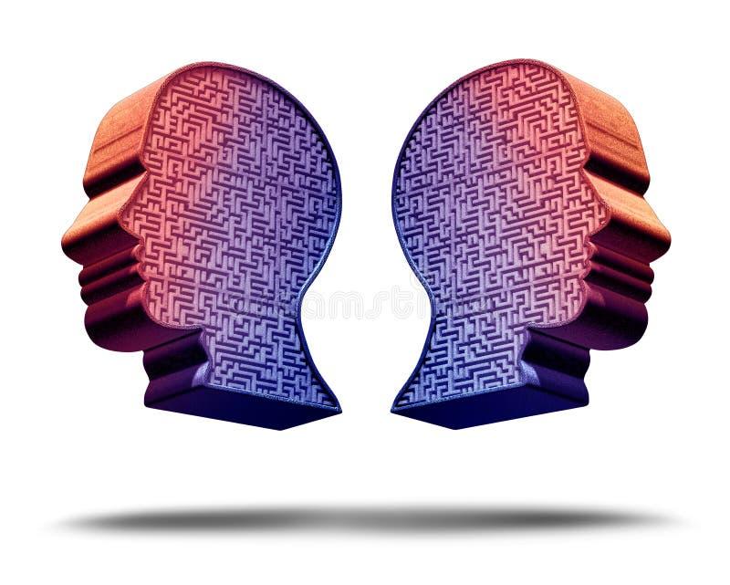 Tecnología de Deepfake ilustración del vector