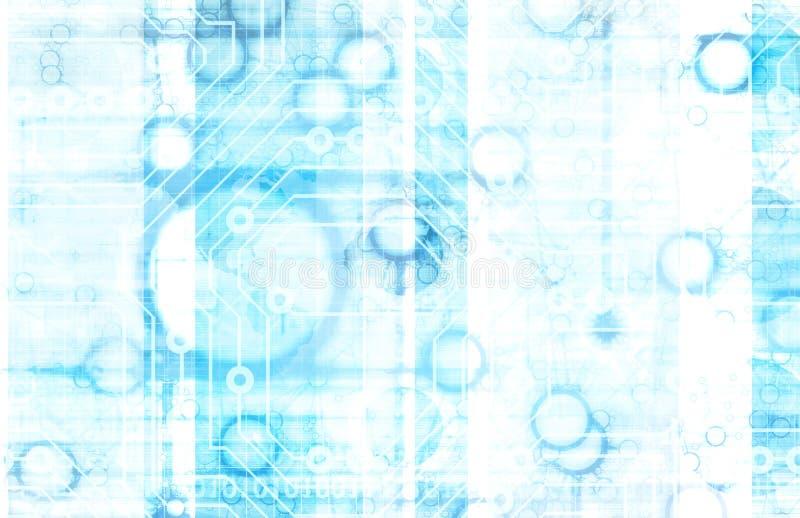 Tecnología de la información ilustración del vector