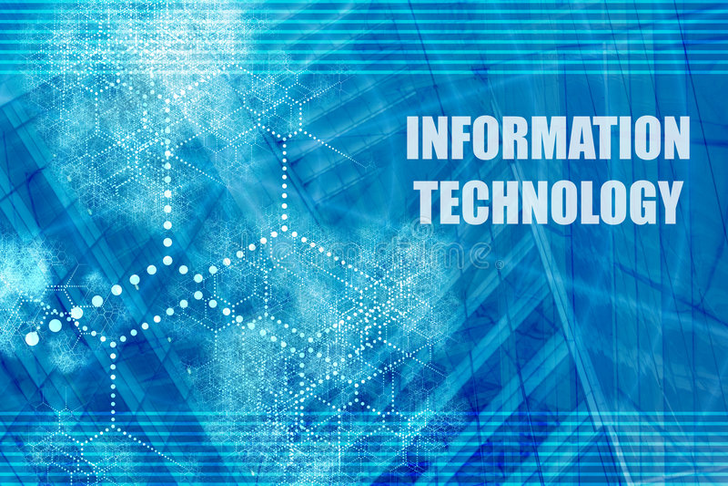 Tecnología de la información libre illustration