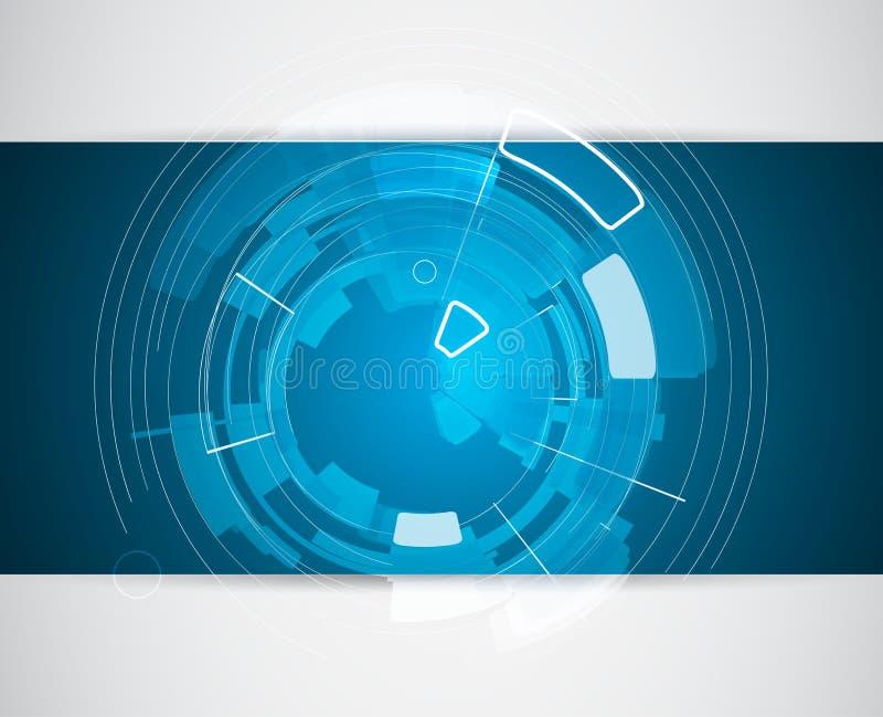Tecnología de la integración y del innivation Las mejores ideas para el negocio p ilustración del vector
