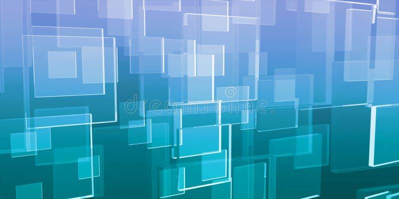 Tecnología de los datos stock de ilustración