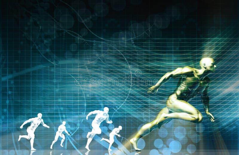 Tecnología de los deportes libre illustration