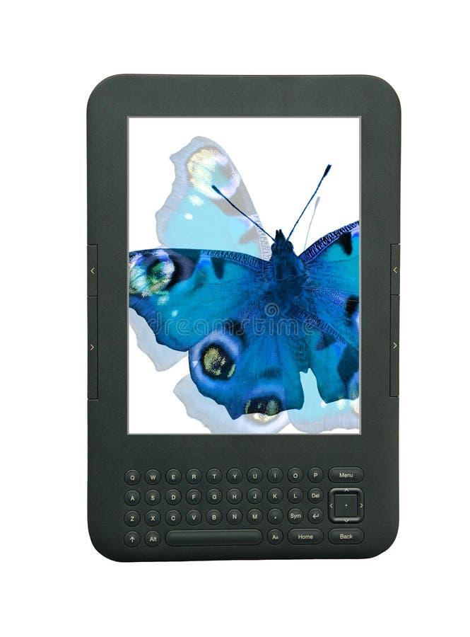 Tecnología del ebook de Ipad foto de archivo