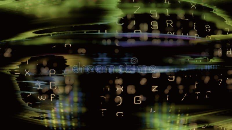 Tecnología futura 0190 foto de archivo libre de regalías
