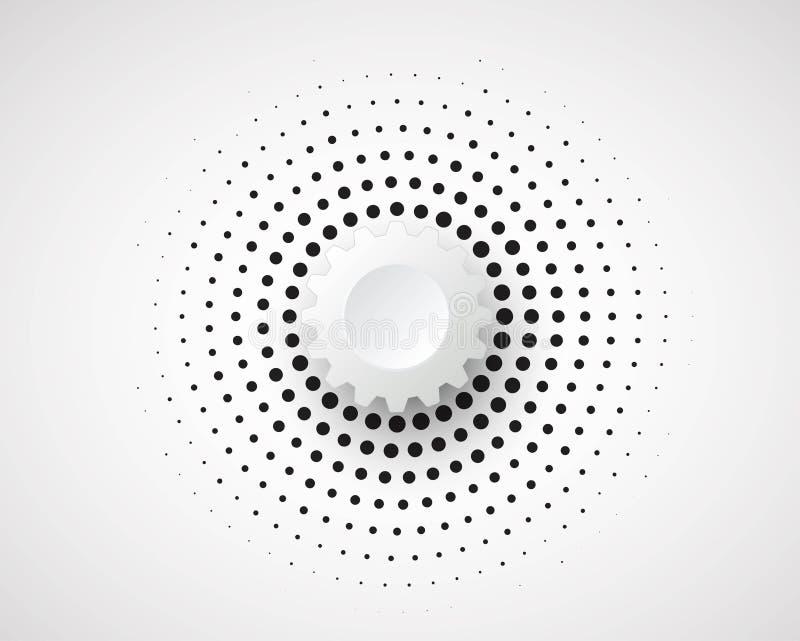 Tecnología futura científica Para la presentación del negocio Aviador, ilustración del vector