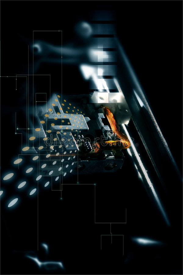 Tecnología III stock de ilustración