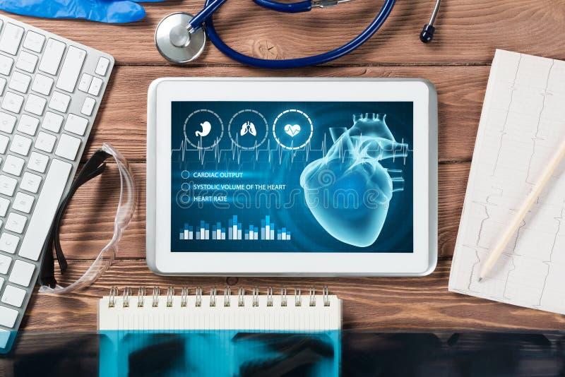 Tecnologías de Digitaces en medicina imagen de archivo