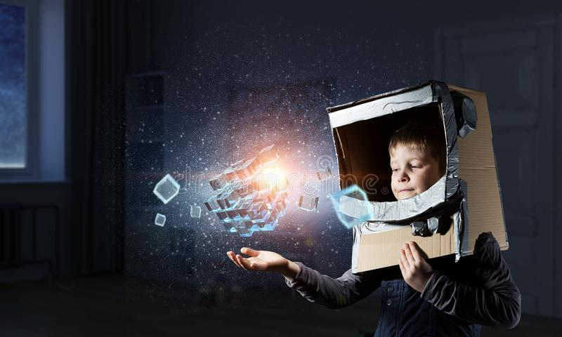 Tecnologías impresionantes innovadoras imagen de archivo