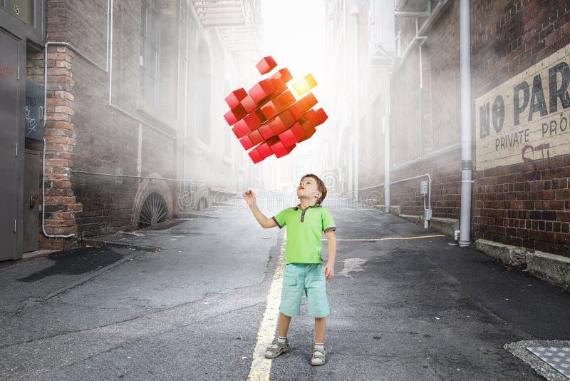 Tecnologías impresionantes innovadoras fotos de archivo libres de regalías