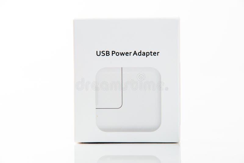 tecnologia Adaptador do poder de USB foto de stock
