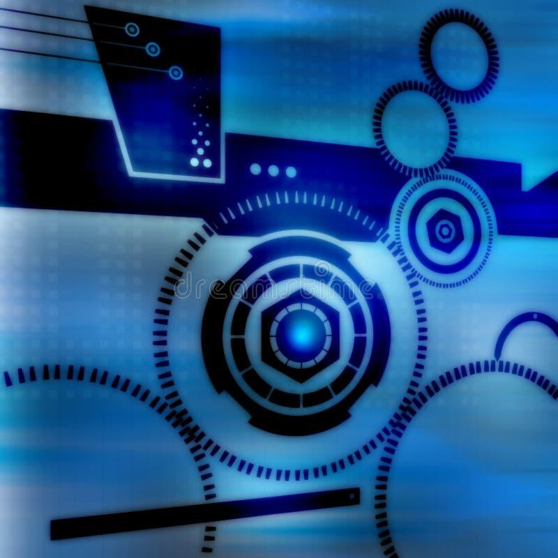 Tecnologia Connectivty ilustração stock