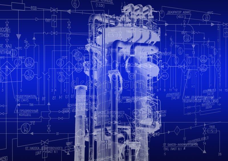 Tecnologia da engenharia industrial imagem de stock royalty free