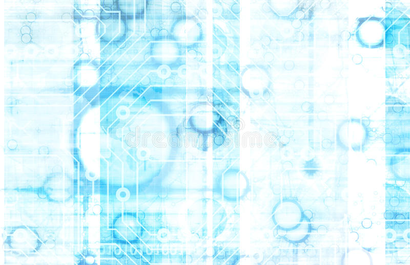 Tecnologia da informação ilustração do vetor