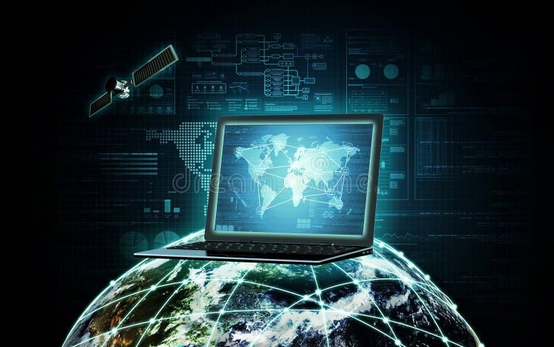 Tecnologia da informações na internet foto de stock royalty free