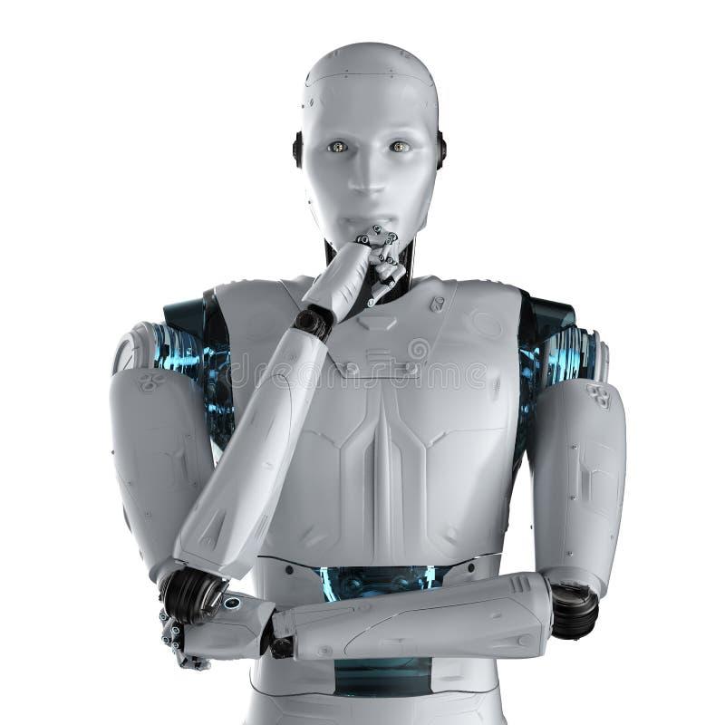Tecnologia da an?lise da automatiza??o ilustração royalty free