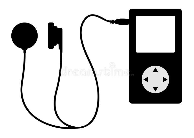 Tecnologia da música ilustração do vetor