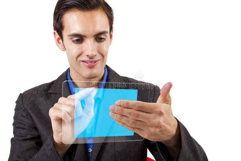 Tecnologia da tabuleta foto de stock