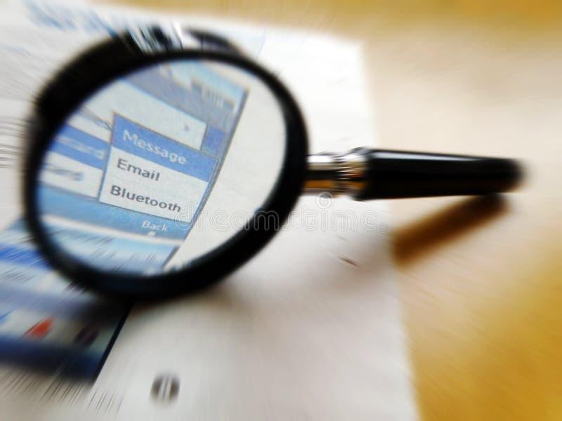 Tecnologia de Bluetooth foto de stock